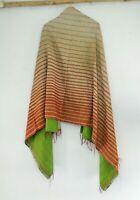 Silk Kantha Scarf Neck Wrap Stole Dupatta Quilted Women Bandanas headband KR41
