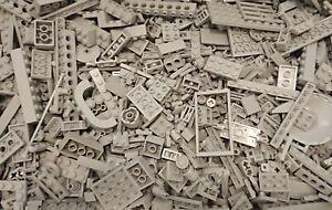 Lego Bulk Genuine LIGHT GREY 500g spare parts assorted loose creativity pack