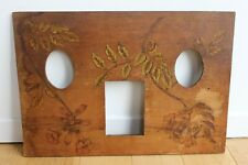 Cadre Photos en bois Grav�� Art Nouveau Décor floral Jugendstil Secession
