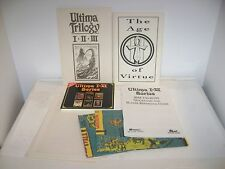 Ultima I-VI Series PC Computer Game RPG with Manuals and Maps CD Edition