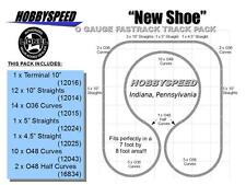 LIONEL FASTRACK NEW SHOE TRACK PACK under around your CHRISTAMAS TREE DESIGN NEW