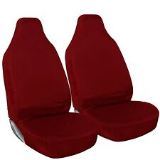 Shield Autocare Heavy Duty 100 Waterproof Red Car Van Seat Covers 1 1