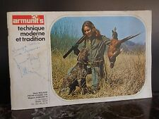 Catalogue ARMUNIT'S Armuriers 1967 France ARTBOOK by PN