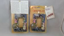 2 OLD WOMAN LIVES IN A SHOE SINGLE SWITCHPLATE AMERICANA SCRAPBOOK NEW