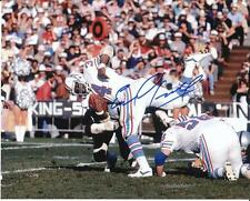 "EARL CAMPBELL Autographed Signed 8"" x 10"" Photo Houston Oilers Football COA"