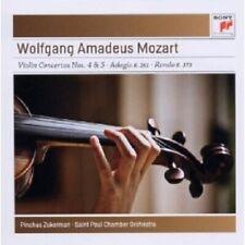 WOLFGANG AMADEUS MOZART - VIOLINKONZERTE 4 & 5/ADAGIO KV261/RONDO K373  CD NEU