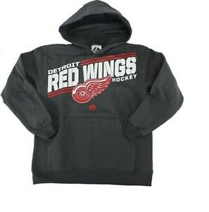 NHL Detroit Red Wings Hooded Sweatshirt New Youth Sizes