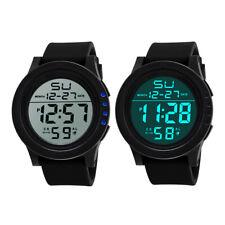 Reloj de Pulsera Impermeable LED Digital Cuarzo Relojes de cintura militar Deportivo para Hombre Mujer