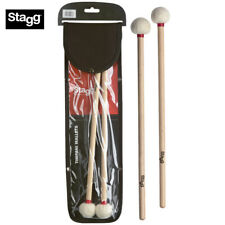 Stagg SBRU30-RS Extra Polybristle Straw Drum Stick Brushes