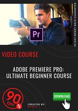 Adobe Premiere Pro Ultimate Beginner Course Professional video training tutorial