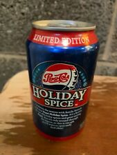 Pepsi Holiday Spice Soda Can Rare 1/4 Full Unopened (Make an offer)
