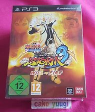 NARUTO SHIPPUDEN ULTIMATE NINJA STORM 3 WILL OF FIRE EDITION SONY PS3 NEUF