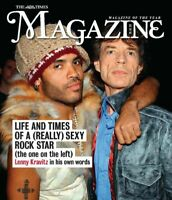 UK TIMES Magazine October 2020: LENNY KRAVITZ COVER FEATURE Mick Jagger
