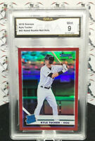 KYLE TUCKER RATED ROOKIE RC 2019 PANINI DONRUSS RED HOLO PARALLEL #43 ASTROS F25