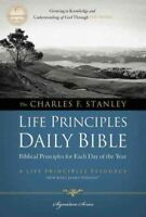 Charles F. Stanley Life Principles Daily Bible : New King James Version, Pape...