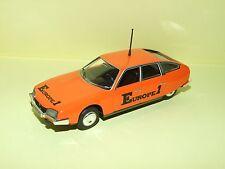 CITROEN CX 2200 1974 EUROPE 1 TOUR DE FRANCE NOREV Sans Boite 1:43 no presse