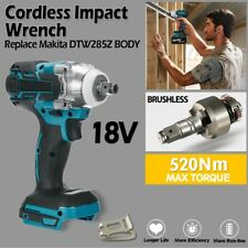 "Cordless Impact Wrench For Makita DTW285Z Brushless 1/2"" 18V Li-ion Tools Kit"