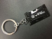 Engine Valve Cover Keychain For HONDA Keyring JDM style DOHC VTEC Black
