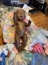 baby born puppe mit mega viel Kleidung Und Fahrradhelm Schlafsack Und Rassel Etc