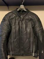 Scorpion EXO Clutch Men's Leather Motorcycle Jacket Large (Phantom Black)