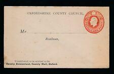 Gb Kg5 Stationery Oxfordshire Council Roadman Envelope