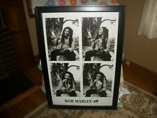BOB MARLEY VERY LARGE FRAMED PICTURE 27 X 40