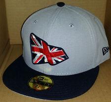 NWT NEW ERA United Kingdom UK Britain England British 59FIFTY size 7 1/8 cap hat