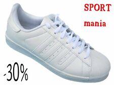 SCARPE DA GINNASTICA UOMO  sportive   fitness tipo adidas  superstar  41 42 43