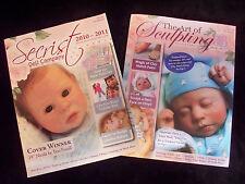 Reborning & Sculpting Tutorial Guidebook / Supply Catalog by Secrist  NEW