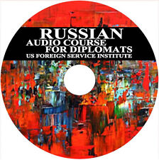 Russian Language Audio Course for Diplomats/Foreign Service Institute (FSI) /DVD