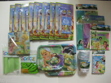 Party Kits Tinker Bell for 8 persons INCLUDES PARTY FAVOR !     BRAND NEW