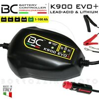 BC K900 EVO+ CARICABATTERIA MOTO BMW CANBUS PRESA ACCENDISIGARI BATTERIE LITIO