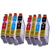 Lot de 8 cartouches compatibles T1816 paquerettes Epson Expression Home XP212