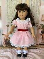 American Girl Samantha in Meet outfit, EUC
