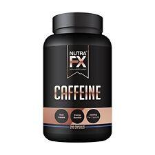 Caffeine Pills Energy Boost Brain Strength High Endurance 200 Capsules 200mg