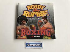 Notice - Ready 2 Rumble Boxing - Sega Dreamcast - PAL FR