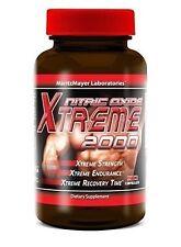 Nitric Oxide Xtreme 2000 Extreme Arginine Glutamine Muscle Extra Pump 90 Caps