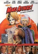 MARS ATTACKS! DI TIM BURTON (DVD) NUOVO, ITALIANO, ORIGINALE