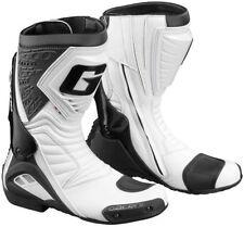 Stivali bianchi per motociclista