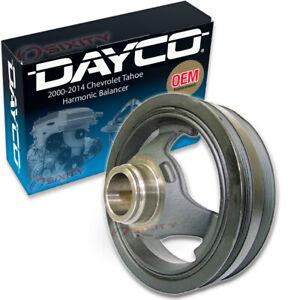 Dayco Engine Harmonic Balancer for 2000-2014 Chevrolet Tahoe 4.8L 5.3L 6.0L bk