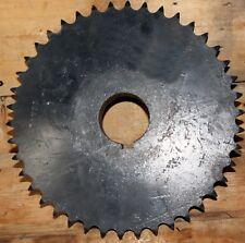 "Used 60A42 Sprocket. 60 Chain 42 Teeth 2 1/8"" Center 1/2"" Keyway 1 1/4"" Bore"
