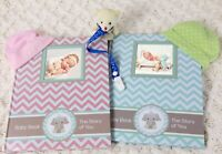 Newborn Album Journal Baby Memory book baby shower 1 st year keepsake milestone