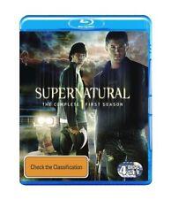 Supernatural : Season 1 (Blu-ray, 2010, 3-Disc Set)