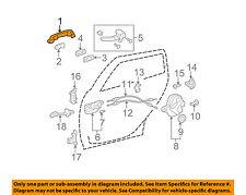 TOYOTA OEM 03-13 Corolla-Outside Exterior Door Handle 6921102080