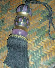 Handpainted Curtain Tie Back