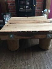 More than 200cm High Oak Country Coffee Tables