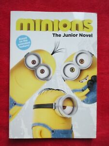 Livre Enfant Anglais Kids Children English Book Minions The junior Novel 2015