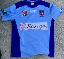 Adelaide Rams Super Player Worn Training Shirt No Jersey League Isc