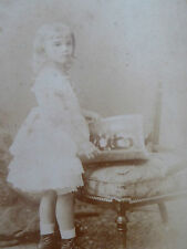 Victorian Cabinet Card Photograph by C F Wing Tunbridge Wells