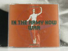 LAIBACH - IN THE ARMY NOW / WAR  CD SINGLE NEAR MINT 1995 MUTE RECORDS